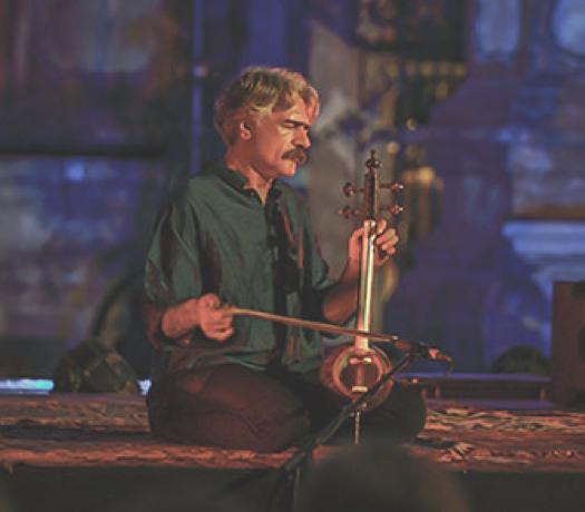 Mistinė kelionė su Irano muzikos ambasadoriumi Kayhan Kalhor (Iranas)