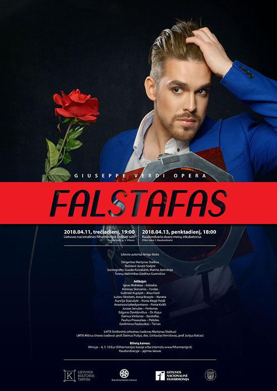 "Giuseppe Verdi opera ""Falstafas"""