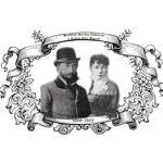 Benediktas Henrikas Tiškevičius ir Elžbieta Klara Bankroft