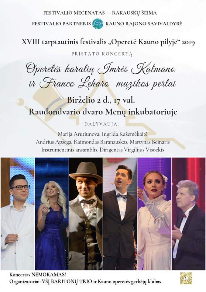 Operetės karalių Imrės Kalmano ir Franco Leharo muzikos perlai!