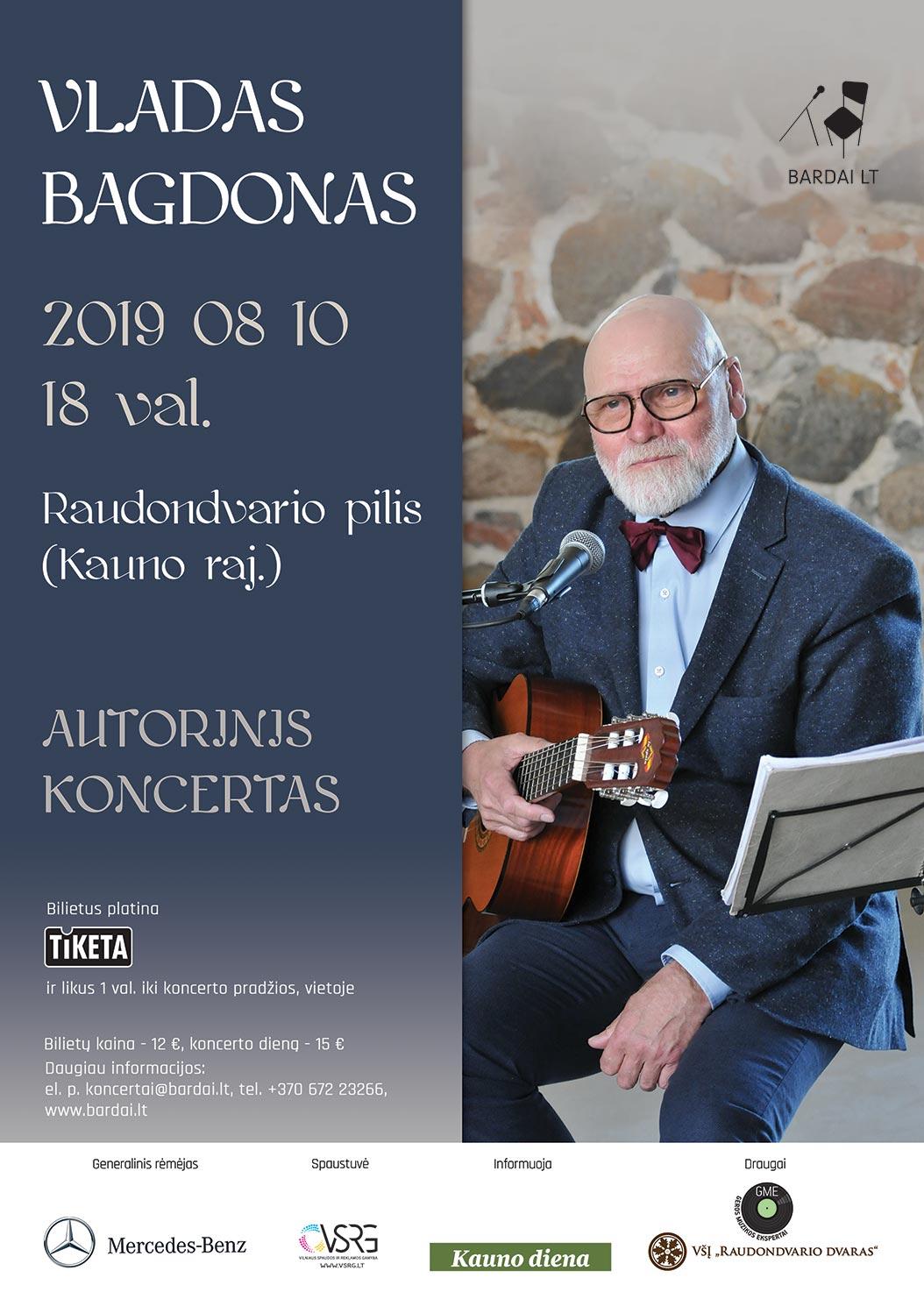Vladas Bagdonas. Autorinis koncertas