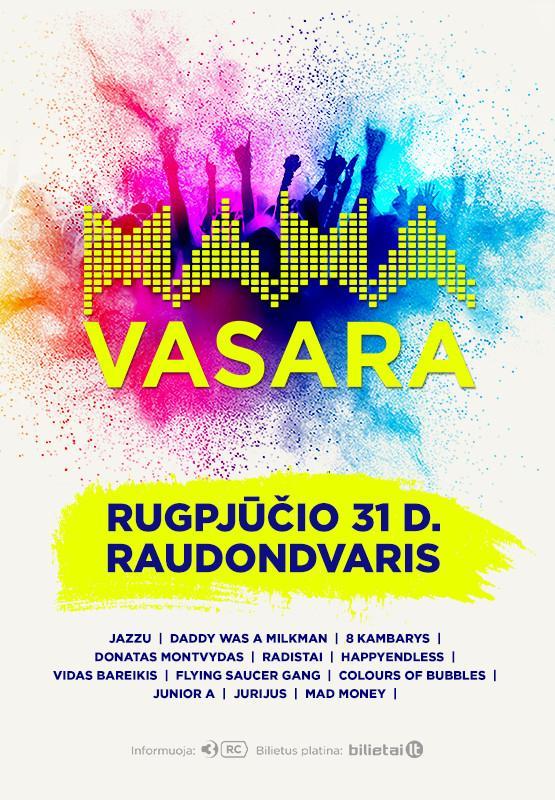 M.A.M.A VASARA festivalis Raudondvario dvare!